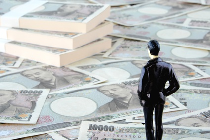 お金を眺める投資家