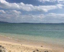 宮古島旅行の海
